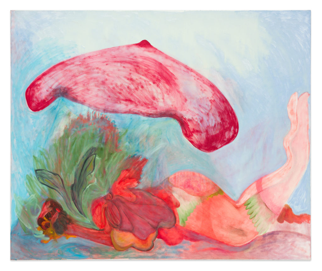 Aloe Vera, 2019, oil on canvas, 150 x 180 cm